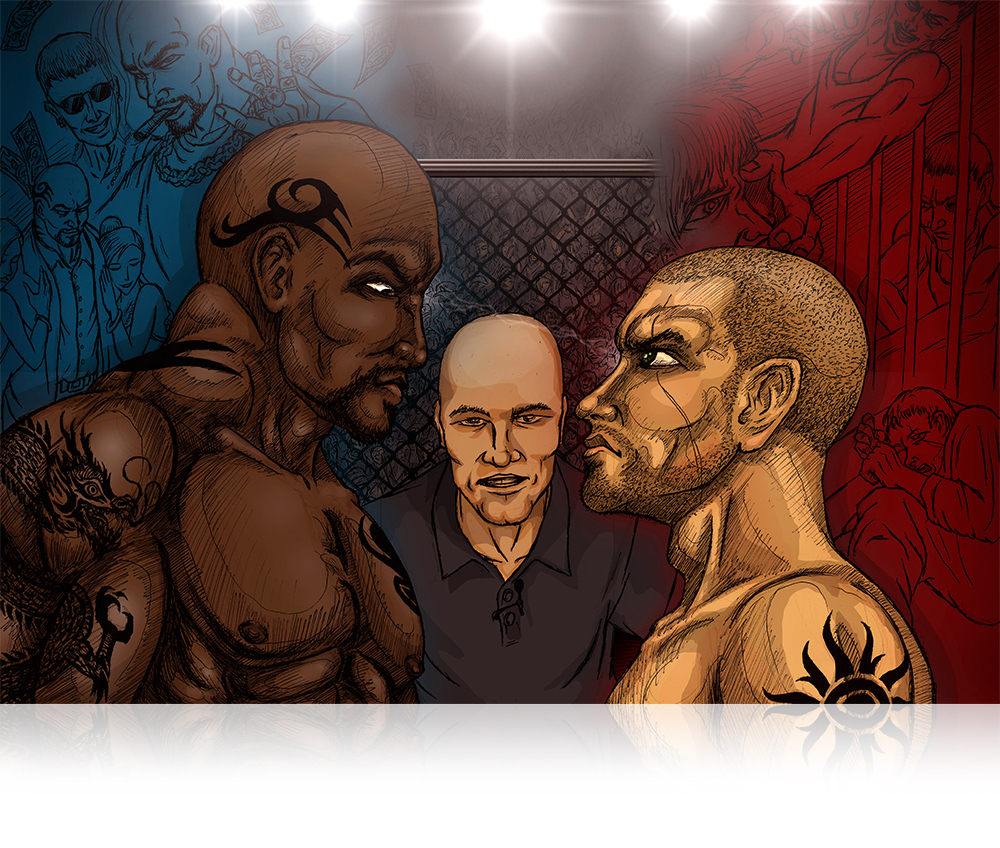 illustration_2fighters-thestaredown