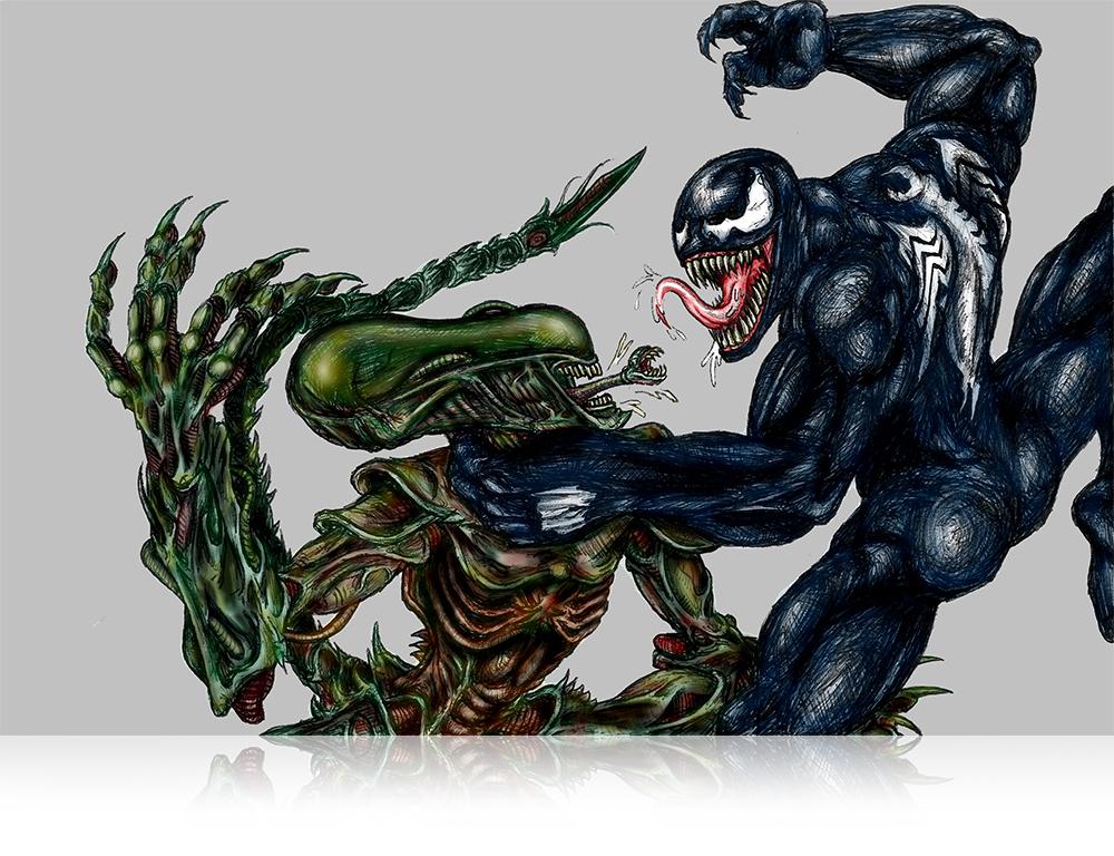 illustration_alien-vs-venom